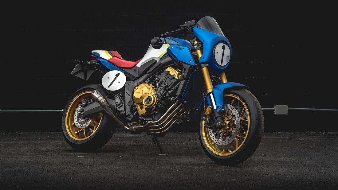 Honda CB 650 R: Honda Moto Taule.