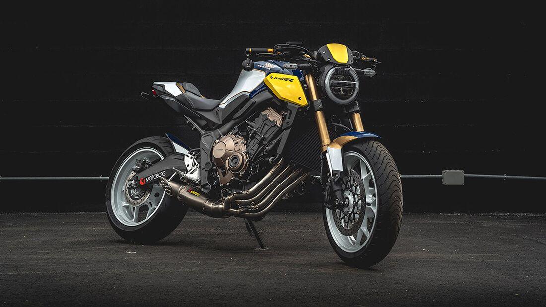 Honda CB 650 R: Honda Motoboxe.