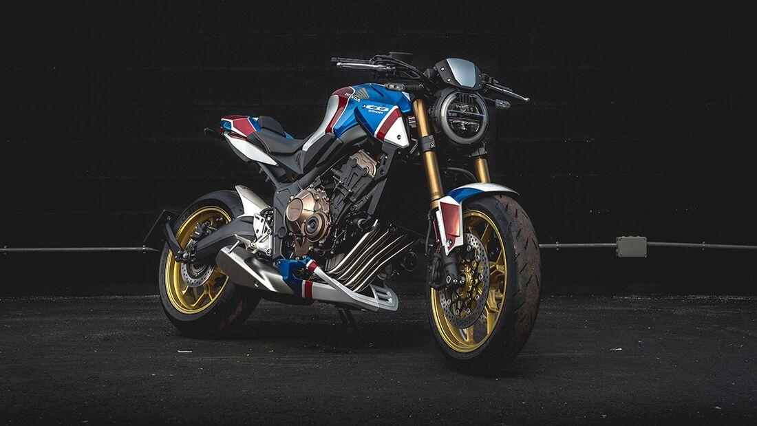 Honda CB 650 R: Honda Motorset.