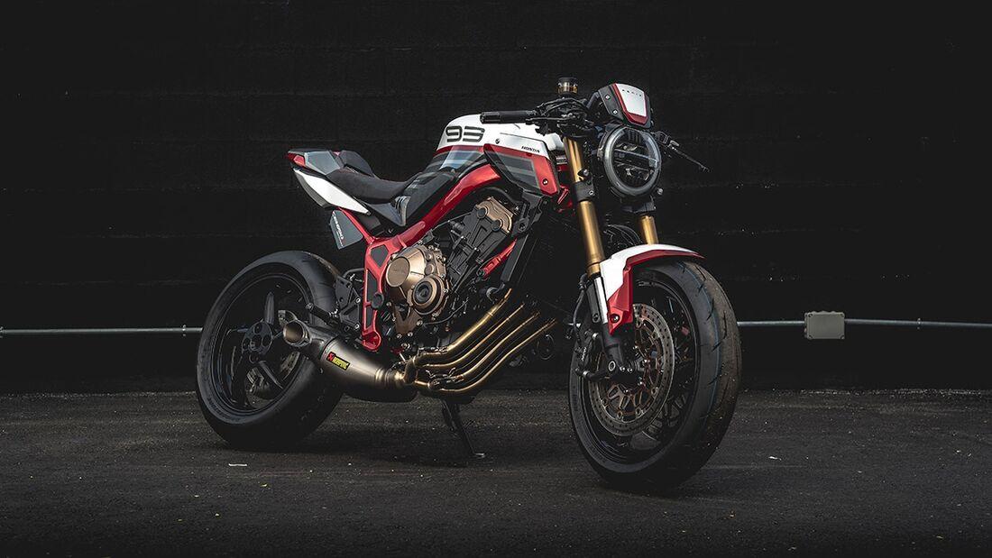 Honda CB 650 R: Honda Mototrofa.