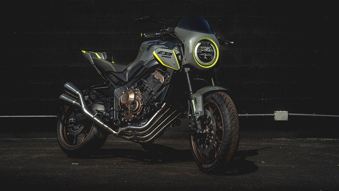 Honda CB 650 R: Honda Mototur.