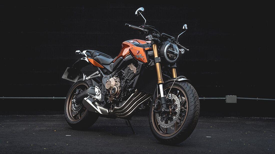 Honda CB 650 R: Honda Stilmoto.
