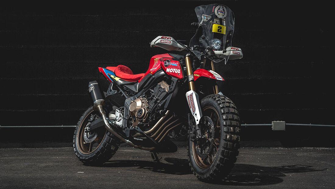 Honda CB 650 R: Honda Wingmotor.
