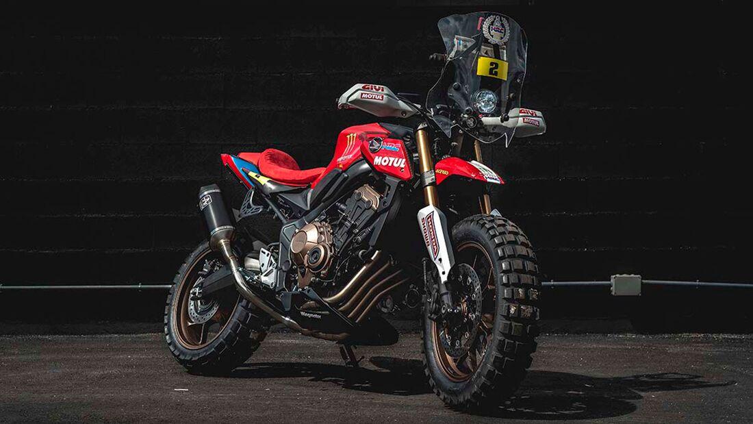 Honda CB 650R Rally by Honda Wingmotor