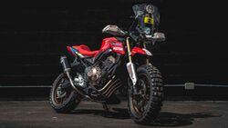 Honda CB 650R Rally by Honda Wingmotor