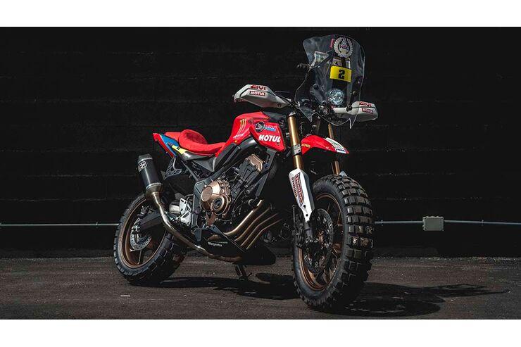 CB 650 R Rally von Honda Wingmotor: Vom Naked Bike zum
