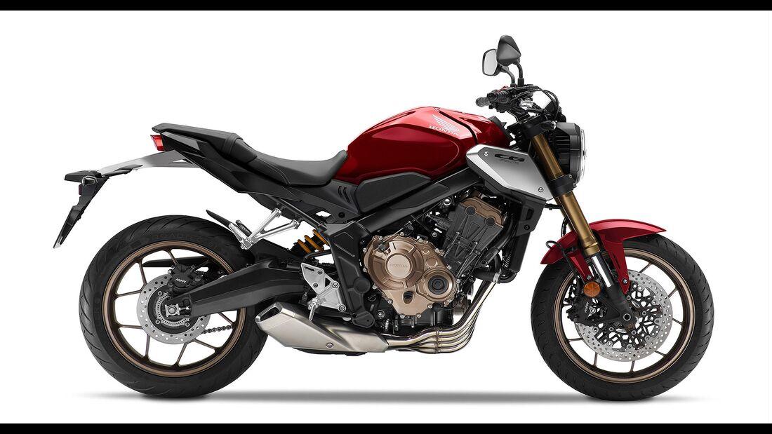 Honda CB 650 R (2021): Mit neuer Gabel und Euro 5