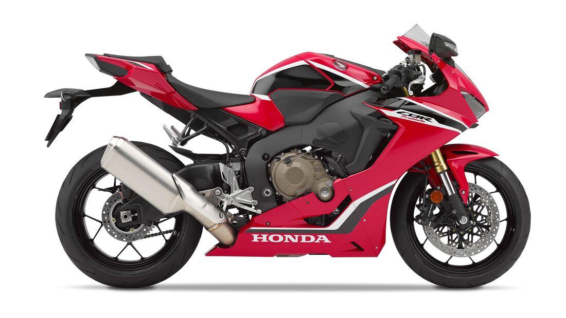 Honda CBR 1000 RR Fireblade.