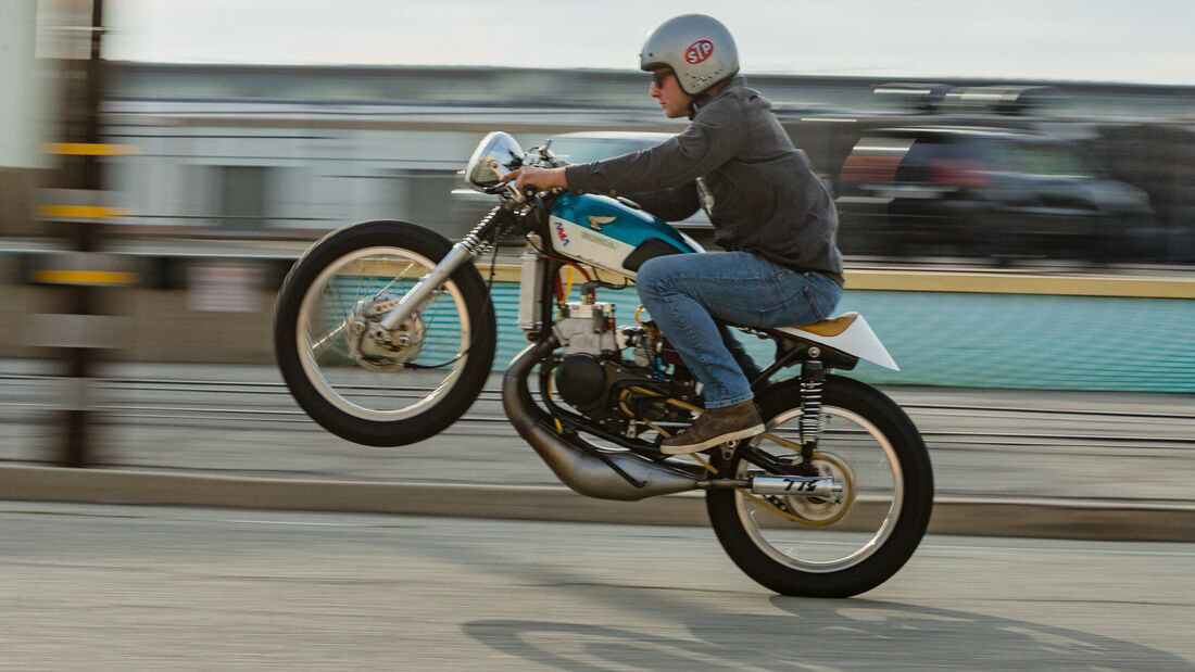 Honda CL 350 Hondeath