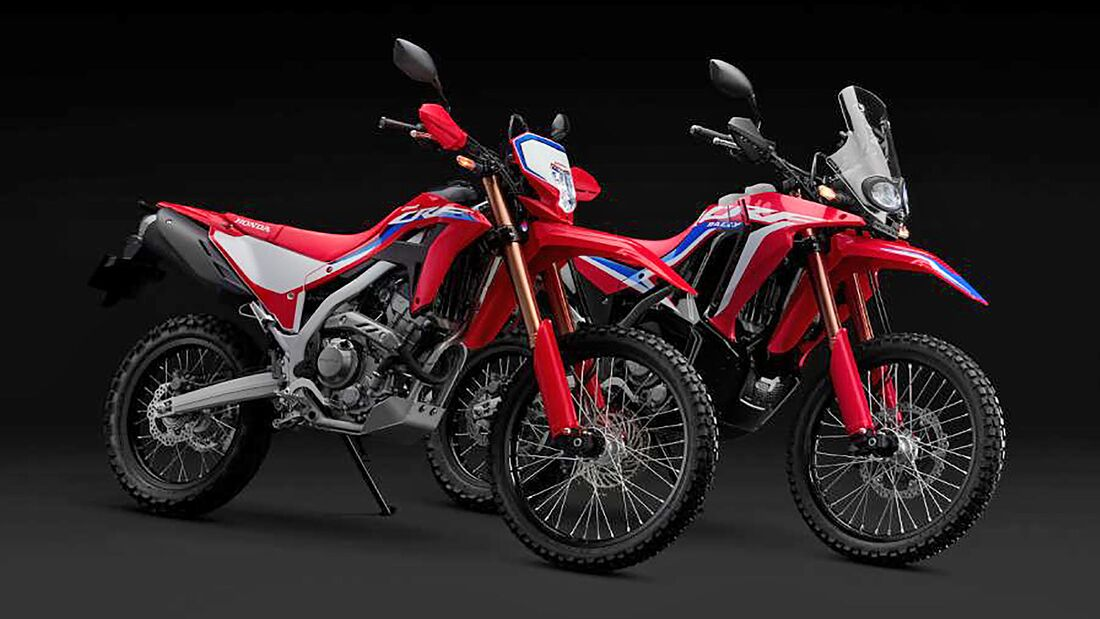 Honda CRF250L und CRF250 Rally