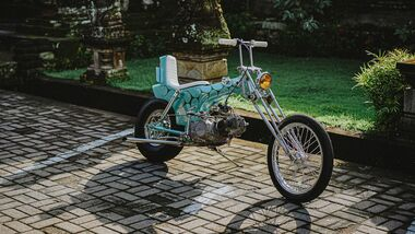 Honda Dax Lil'Pussy Chopper by Zambrag Garage