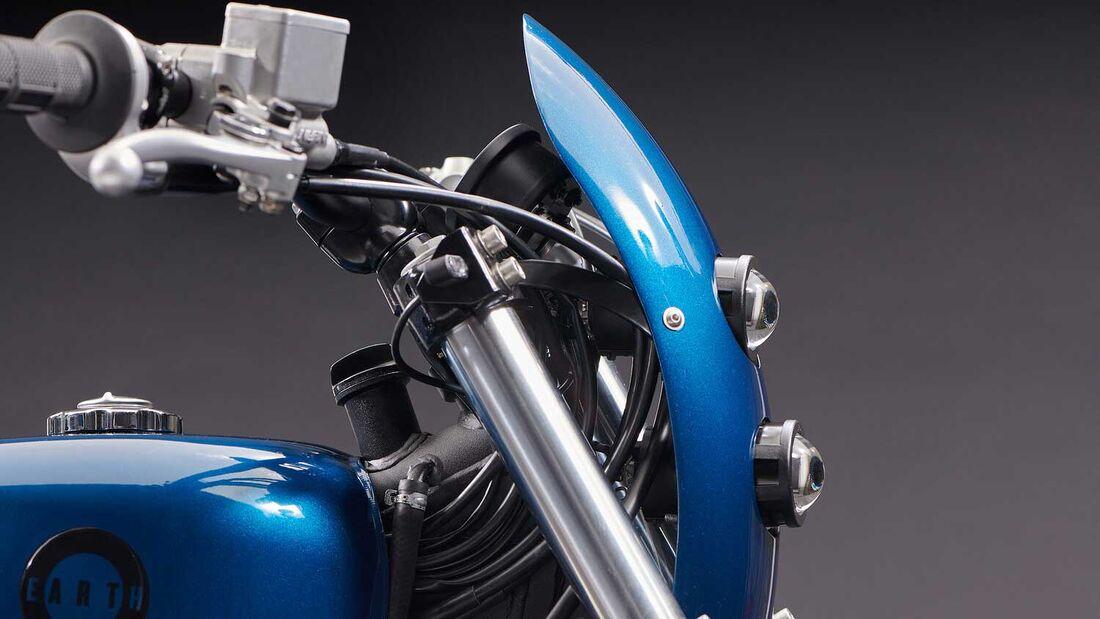 Honda NX 650 Dominator: Earth Motorcycles mit feinem