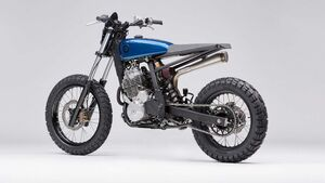 Honda Dominator Custombike Earth Motorcycles