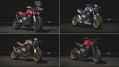Honda Dream Garage Custom-Wettbewerb zur CB 650 R.