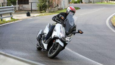 Honda Forza 350 Fahrbericht