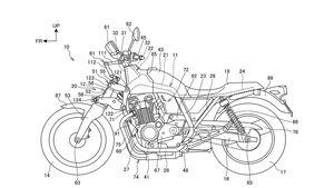 Honda Gabel Patent Hossack