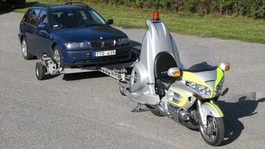 Honda Goldwing Abschlepper