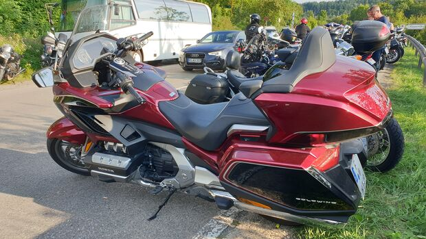 Honda Goldwing im Dauertest.