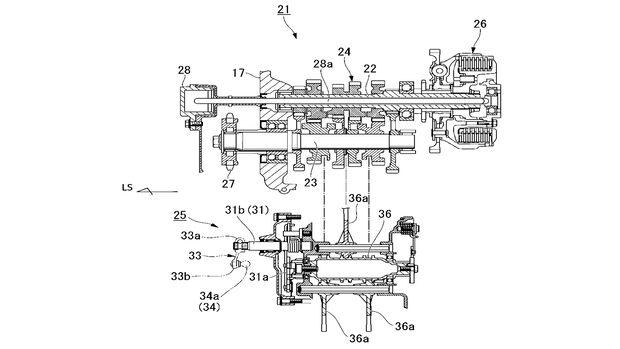 Honda Kupplungs Patent