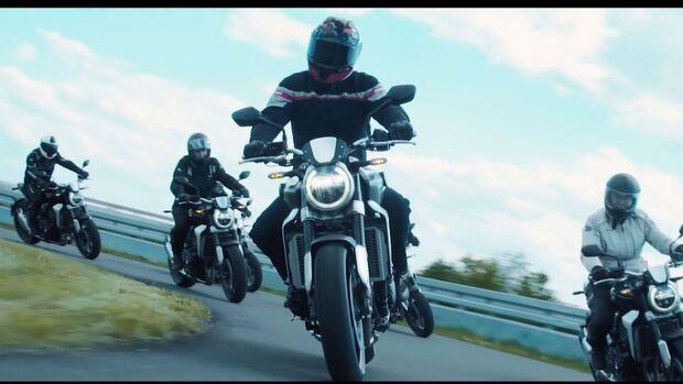 Honda Leser-Testride Honda CB 1000 R Neo Sports Cafe Video