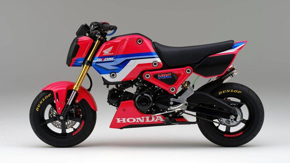 Honda MSX 125 Grom Modelljahr 2021 HRC Version