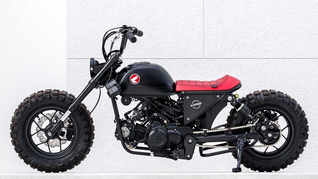 Honda Monkey Bobber by K-Speed