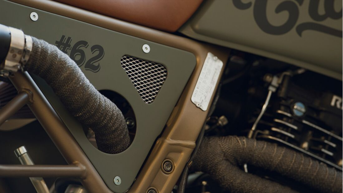 Honda NC 650 Dominator CRD 62 Cafe Racer.