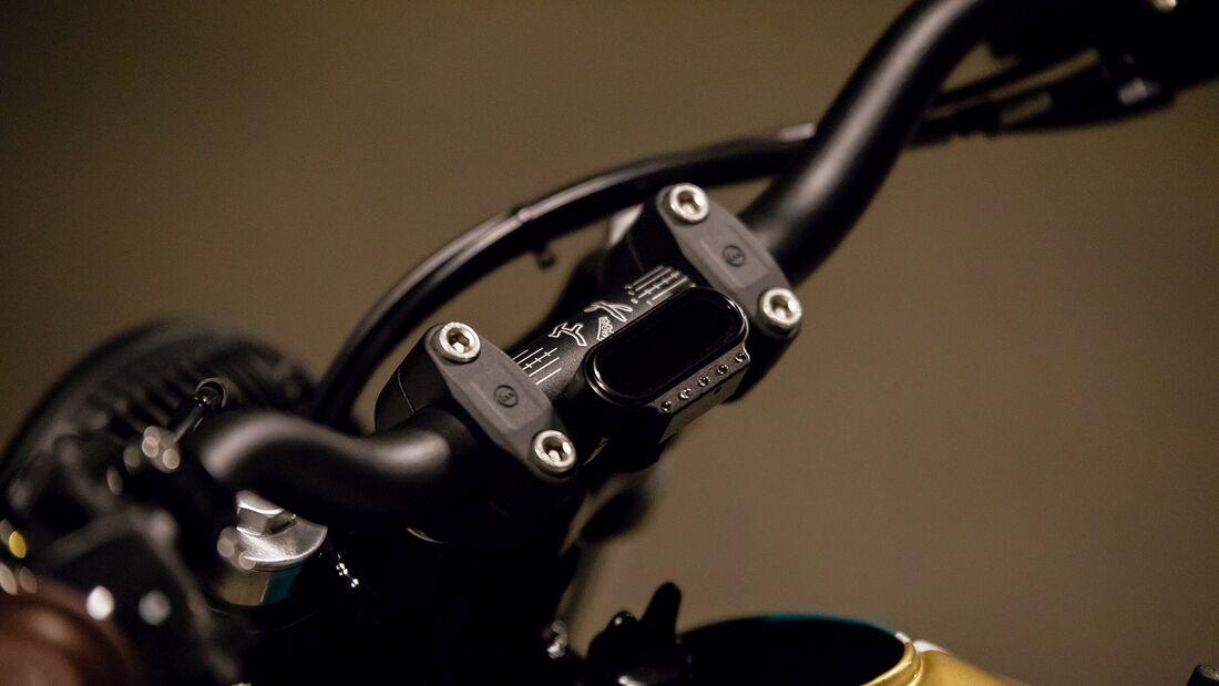 "Honda NX 650 Dominator ""Nr. 35: Scrambler-Umbau von HB"