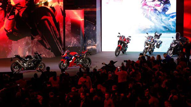 Honda Neuheiten auf der Eicma 2019
