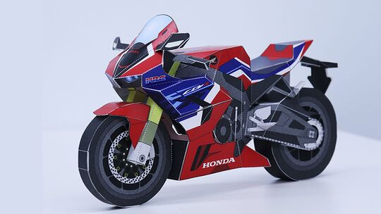 Honda Papercraft Modelle Fireblade