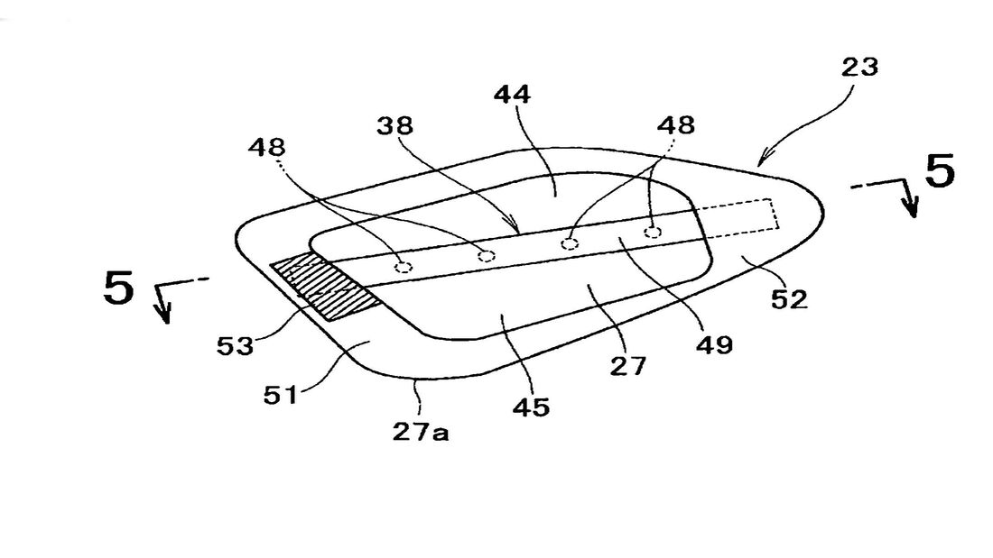 Honda Patent Aero-Blinker