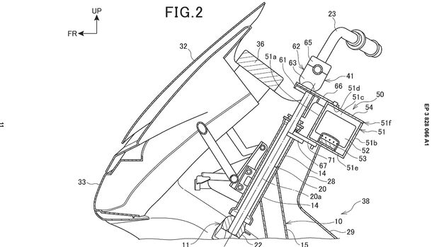 Honda Patent Airbag