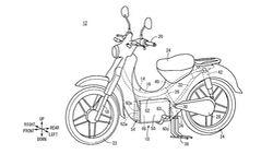 Honda Patent E-Super Cub