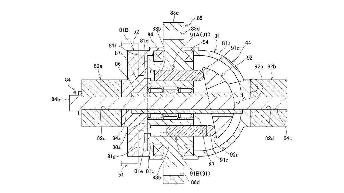 Honda Patent Elektro Allrad