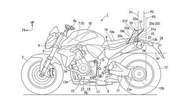 Honda Patent Heckspoiler