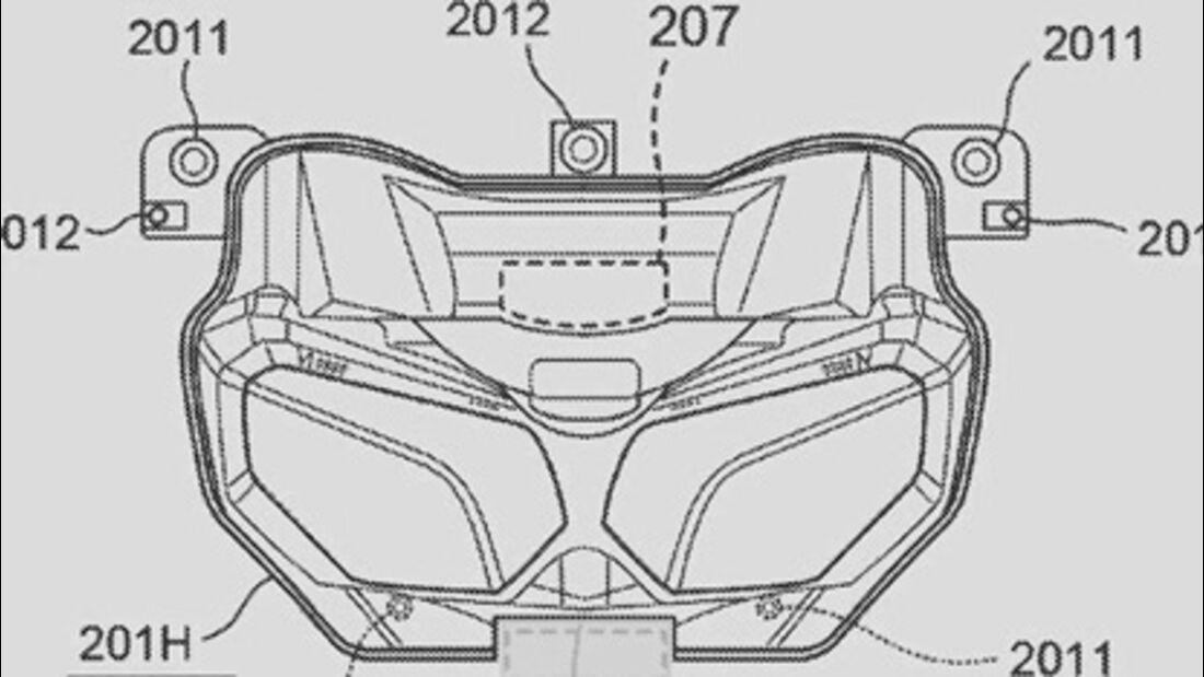 Honda Patent Radar Africa Twin