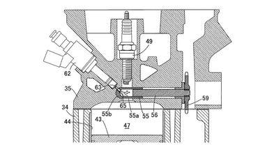Honda Patent Vorkammerzündung