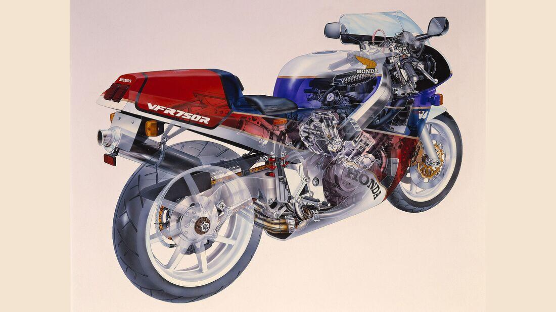 Honda RC30 Forever Ersatzteilprogramm