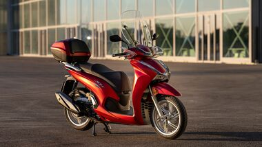 Honda SH 350i Modelljahr 2021 Sperrfrist