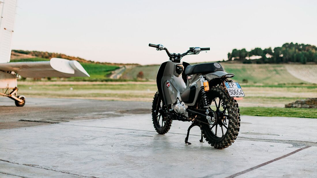 Honda Super Cub 125 X Honda Italia Motocicli Audaci MAAN
