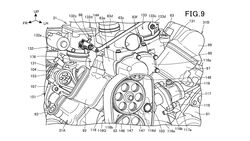 Honda V2 Kompressor Patentamtbilder