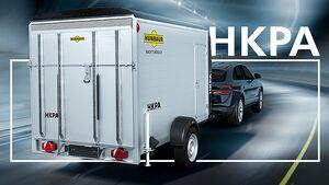 Humbaur HKPA Vollpoly-Alu-Kofferanhänger