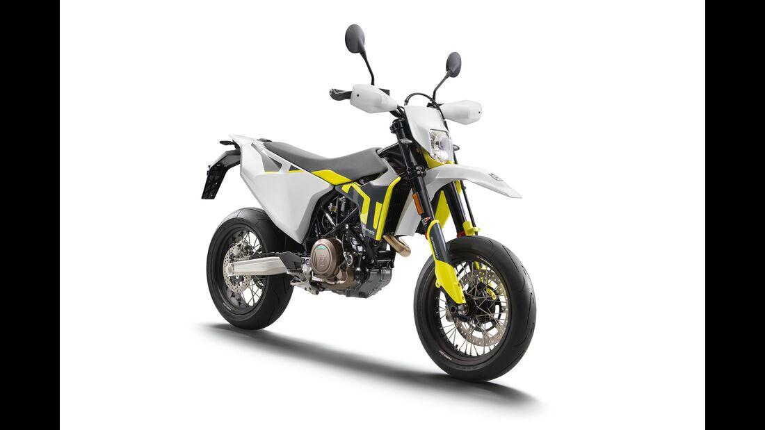 Husqvarna 701 Supermoto Modelljahr 2020