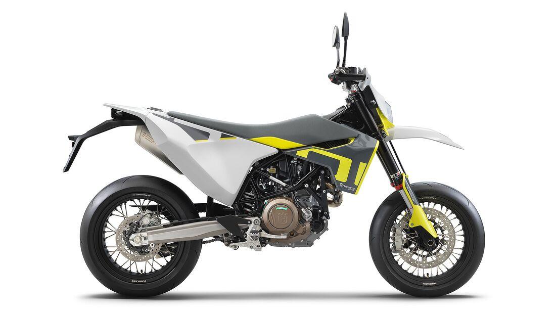 Husqvarna 701 Supermoto Modelljahr 2021