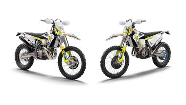 Husqvarna FE 350 und TE 300i Rockstar Edition 2021