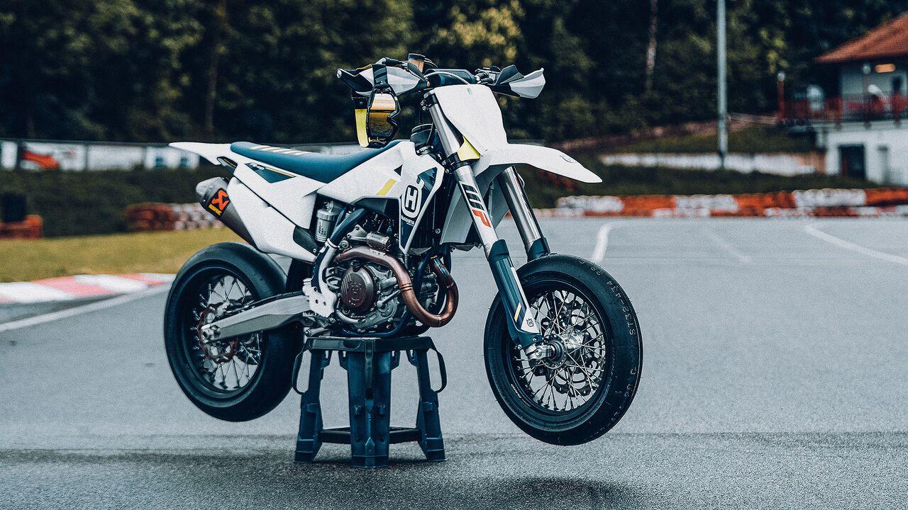 Husqvarna FS 20 Supermoto für das Jahr 20   MOTORRADonline.de