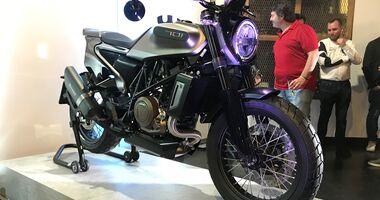 Husqvarna Svartpilen 701 Style.