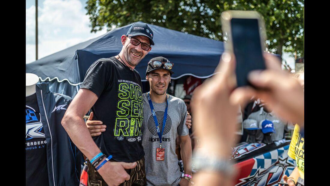 IDM 2019 auf dem Schleizer Dreieck mit Markus Reiterberger zu Gast