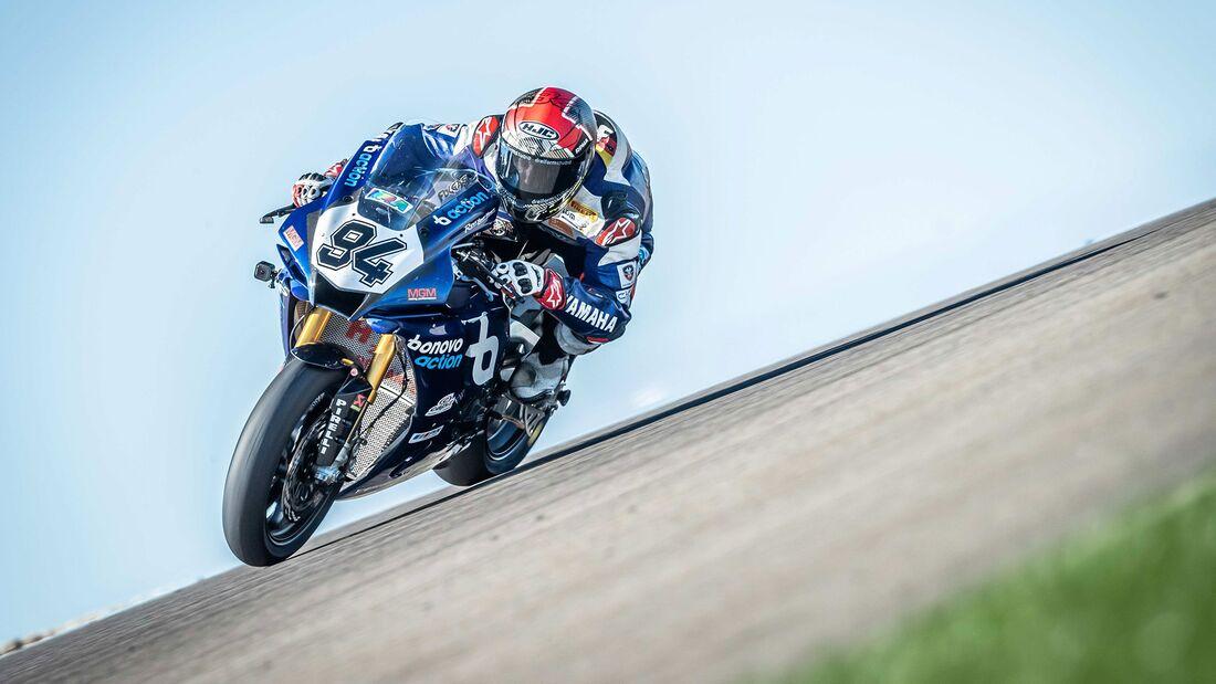IDM Superbike 1000 Jonas Folger Sachsenring 2020