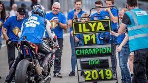 IDM Superbike 1000 Sieg Ilya Mikhalchik